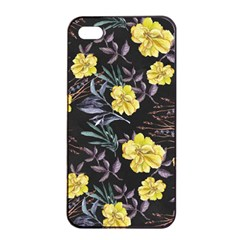 Wildflowers Ii Apple Iphone 4/4s Seamless Case (black)