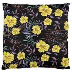 Wildflowers Ii Large Cushion Case (one Side) by tarastyle