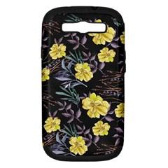 Wildflowers Ii Samsung Galaxy S Iii Hardshell Case (pc+silicone) by tarastyle