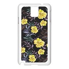 Wildflowers Ii Samsung Galaxy Note 3 N9005 Case (white) by tarastyle