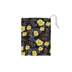 Wildflowers Ii Drawstring Pouches (xs)