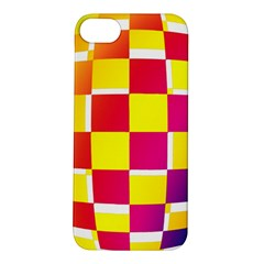 Squares Colored Background Apple iPhone 5S/ SE Hardshell Case