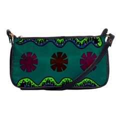 A Colorful Modern Illustration Shoulder Clutch Bags by Simbadda