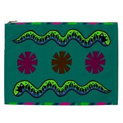 A Colorful Modern Illustration Cosmetic Bag (xxl)  by Simbadda