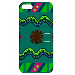 A Colorful Modern Illustration Apple Iphone 5 Hardshell Case With Stand by Simbadda
