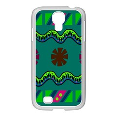 A Colorful Modern Illustration Samsung Galaxy S4 I9500/ I9505 Case (white) by Simbadda