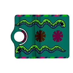 A Colorful Modern Illustration Kindle Fire Hd (2013) Flip 360 Case by Simbadda