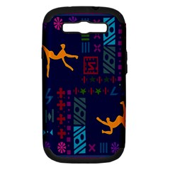 A Colorful Modern Illustration For Lovers Samsung Galaxy S Iii Hardshell Case (pc+silicone)
