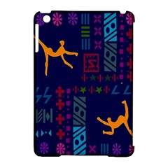 A Colorful Modern Illustration For Lovers Apple Ipad Mini Hardshell Case (compatible With Smart Cover) by Simbadda