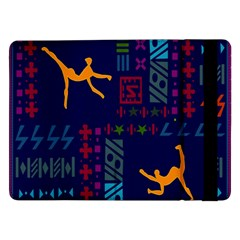 A Colorful Modern Illustration For Lovers Samsung Galaxy Tab Pro 12 2  Flip Case by Simbadda