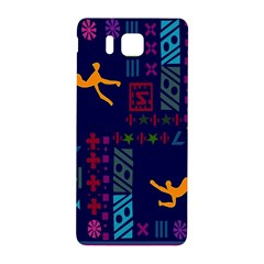 A Colorful Modern Illustration For Lovers Samsung Galaxy Alpha Hardshell Back Case by Simbadda
