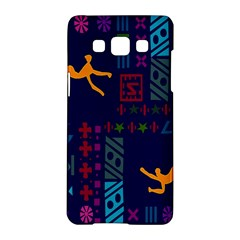 A Colorful Modern Illustration For Lovers Samsung Galaxy A5 Hardshell Case  by Simbadda