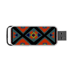 Abstract A Colorful Modern Illustration Portable Usb Flash (two Sides) by Simbadda