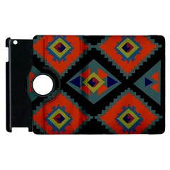 Abstract A Colorful Modern Illustration Apple Ipad 2 Flip 360 Case by Simbadda