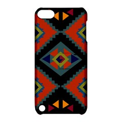 Abstract A Colorful Modern Illustration Apple Ipod Touch 5 Hardshell Case With Stand by Simbadda