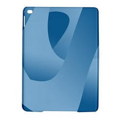 Abstract Blue Background Swirls Ipad Air 2 Hardshell Cases by Simbadda