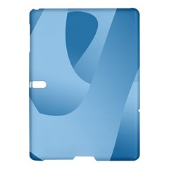 Abstract Blue Background Swirls Samsung Galaxy Tab S (10 5 ) Hardshell Case  by Simbadda
