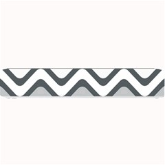 Shades Of Grey And White Wavy Lines Background Wallpaper Small Bar Mats by Simbadda