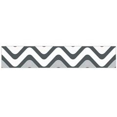 Shades Of Grey And White Wavy Lines Background Wallpaper Flano Scarf (large) by Simbadda