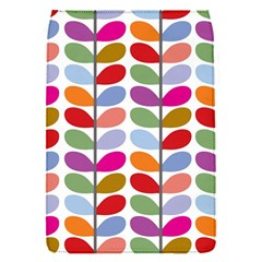 Colorful Bright Leaf Pattern Background Flap Covers (s)  by Simbadda