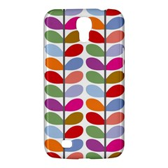 Colorful Bright Leaf Pattern Background Samsung Galaxy Mega 6 3  I9200 Hardshell Case by Simbadda