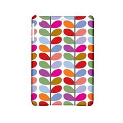 Colorful Bright Leaf Pattern Background Ipad Mini 2 Hardshell Cases by Simbadda