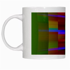Galileo Galilei Reincarnation Abstract Character White Mugs by Simbadda