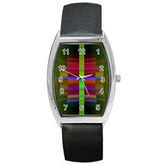 Galileo Galilei Reincarnation Abstract Character Barrel Style Metal Watch by Simbadda