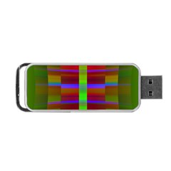 Galileo Galilei Reincarnation Abstract Character Portable Usb Flash (one Side) by Simbadda