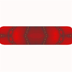 Impressive Red Fractal Large Bar Mats by Simbadda