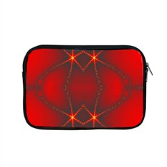 Impressive Red Fractal Apple Macbook Pro 15  Zipper Case by Simbadda
