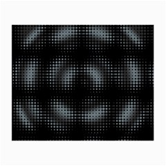 Circular Abstract Blend Wallpaper Design Small Glasses Cloth (2 Side) by Simbadda