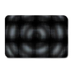 Circular Abstract Blend Wallpaper Design Plate Mats by Simbadda