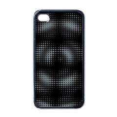 Circular Abstract Blend Wallpaper Design Apple Iphone 4 Case (black) by Simbadda