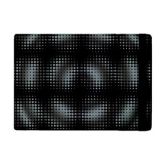 Circular Abstract Blend Wallpaper Design Apple Ipad Mini Flip Case by Simbadda