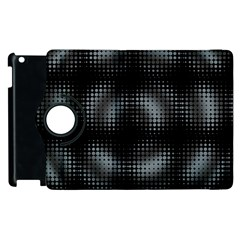 Circular Abstract Blend Wallpaper Design Apple Ipad 3/4 Flip 360 Case by Simbadda