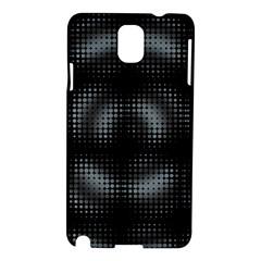 Circular Abstract Blend Wallpaper Design Samsung Galaxy Note 3 N9005 Hardshell Case by Simbadda