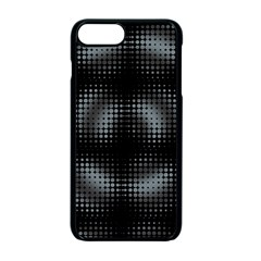 Circular Abstract Blend Wallpaper Design Apple Iphone 7 Plus Seamless Case (black) by Simbadda