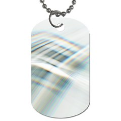 Business Background Abstract Dog Tag (two Sides) by Simbadda