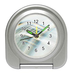 Business Background Abstract Travel Alarm Clocks by Simbadda