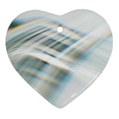 Business Background Abstract Heart Ornament (two Sides) by Simbadda