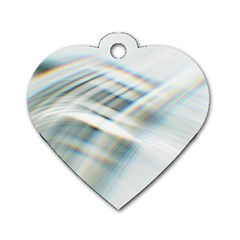 Business Background Abstract Dog Tag Heart (one Side) by Simbadda