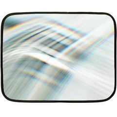 Business Background Abstract Fleece Blanket (mini) by Simbadda