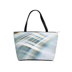 Business Background Abstract Shoulder Handbags by Simbadda
