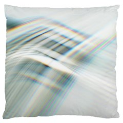 Business Background Abstract Large Cushion Case (two Sides) by Simbadda