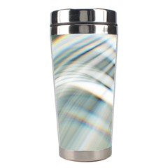 Business Background Abstract Stainless Steel Travel Tumblers by Simbadda