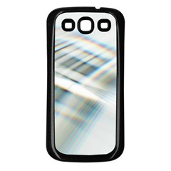 Business Background Abstract Samsung Galaxy S3 Back Case (black) by Simbadda