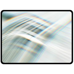 Business Background Abstract Double Sided Fleece Blanket (large)  by Simbadda