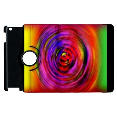 Colors Of My Life Apple Ipad 3/4 Flip 360 Case by Simbadda