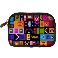 Abstract A Colorful Modern Illustration Digital Camera Cases by Simbadda
